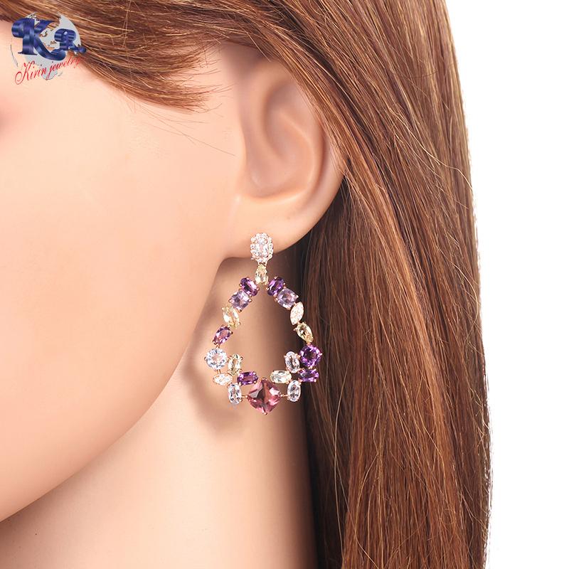 Kirin 925 sterling silver earrings for women 35826