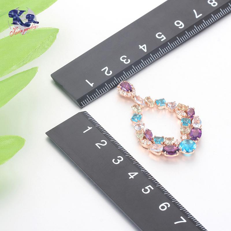Kirin 925 sterling silver Luxury earrings for women 35841