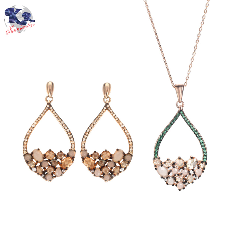 Kirin 925 sterling silver fashion jewelry set for women 81772