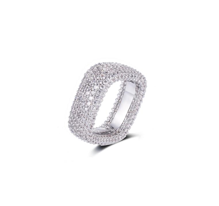Classical Pave Ring  Fine Jewelry Kirin Jewelry 102448