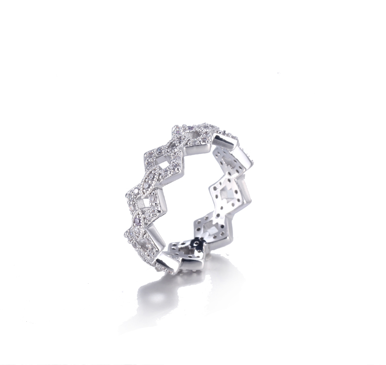 925 Sterling Silver Classic Ring for Women Kirin Jewelry 105143