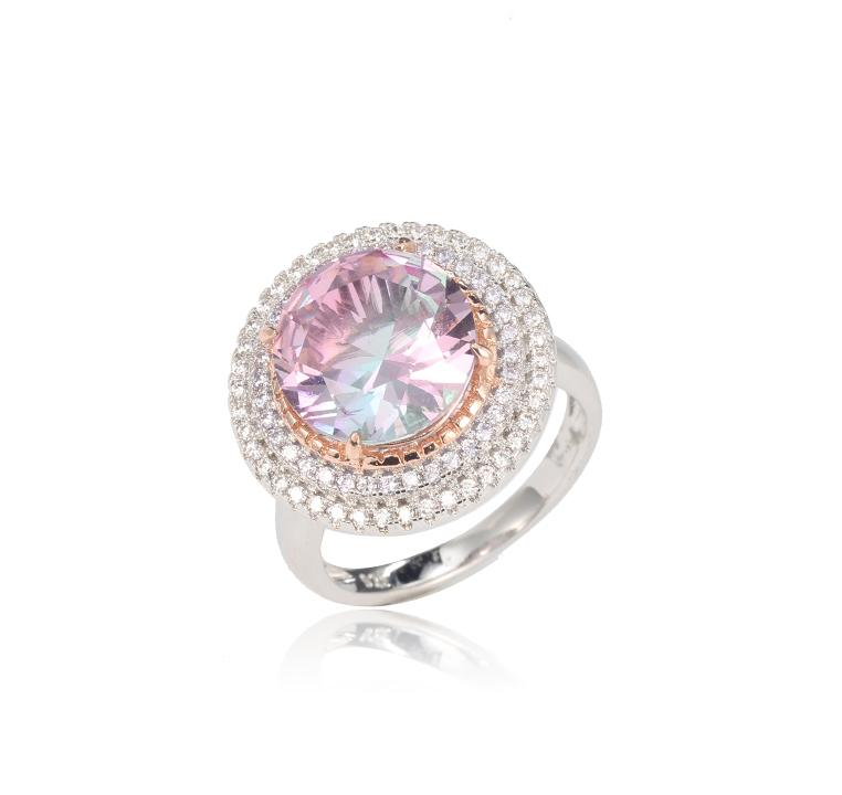 Big CZ Cubic Zircon Stone Rings for Women Kirin Jewelry 102353