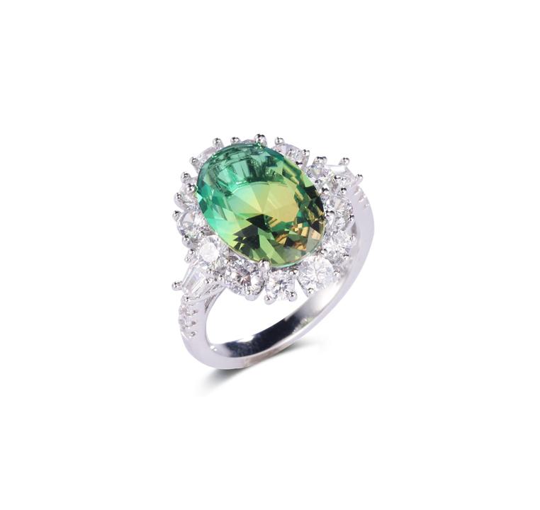 925 silver big stone special stone fashion jewelry ring for women Kirin Jewelry 102131
