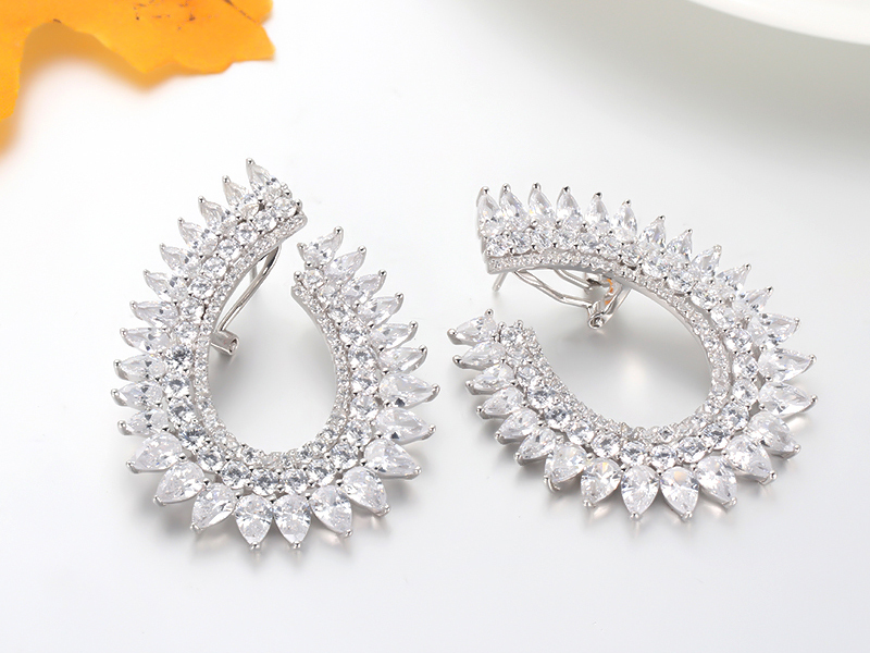 925 sterling silver earrings fashion jewelry for women