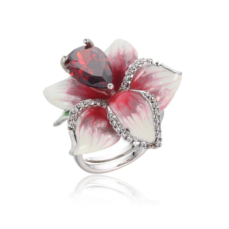 New Arrival 925 sterling silver Enamel Ring Kirin Jewelry 101943