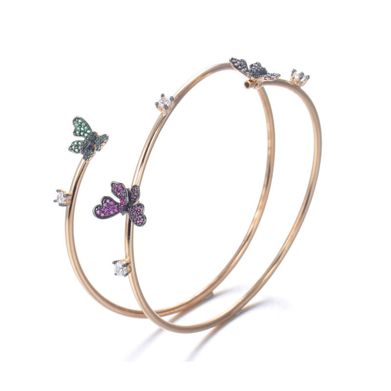 Fashion Jewelry Zircon butterfly Bracelet - Charm Jewelry Gift for Women 50832 Kirin Jewelry
