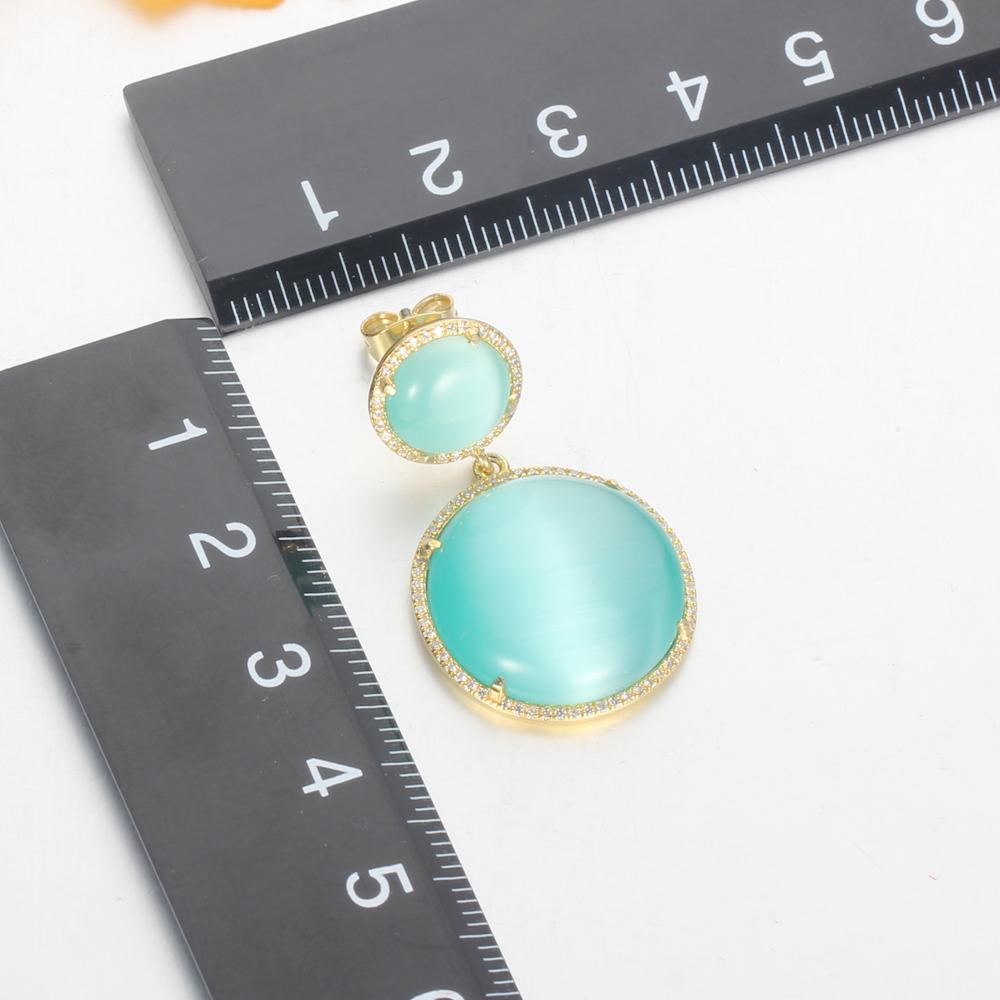 925 silver jewelry set gold plated earrings pendants kirin jewelry 82442