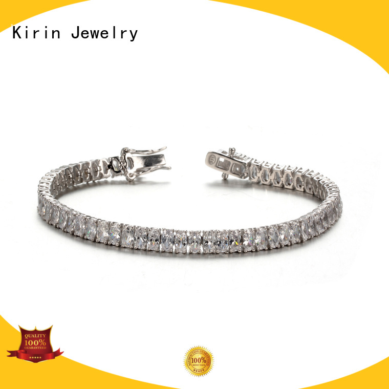 Kirin Jewelry Brand shape cz cut pave setting jewelry