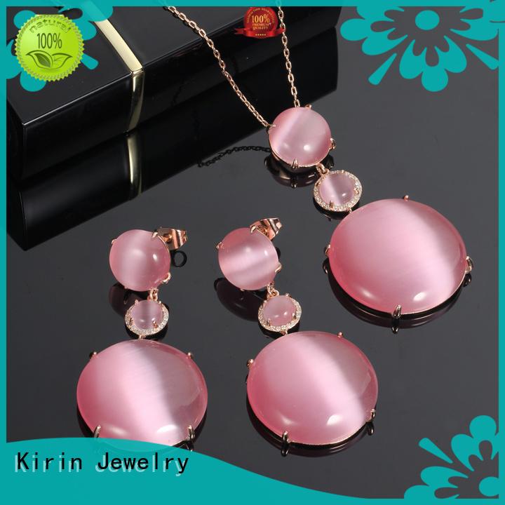 Custom necklace 925 sterling silver jewelry sets stone Kirin Jewelry
