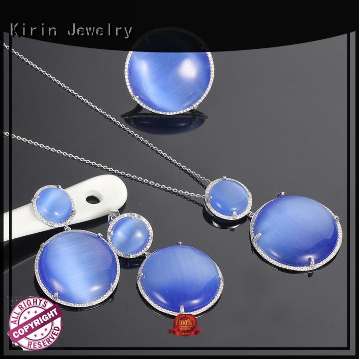 925 sterling silver wedding sets big cat Kirin Jewelry Brand