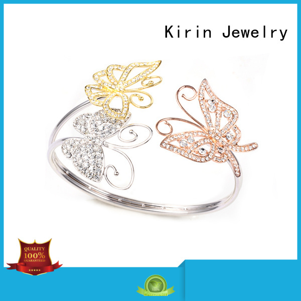 infinity zircon pave setting jewelry plated Kirin Jewelry Brand