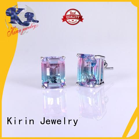 Wholesale stud silver jewelry charms clip Kirin Jewelry Brand
