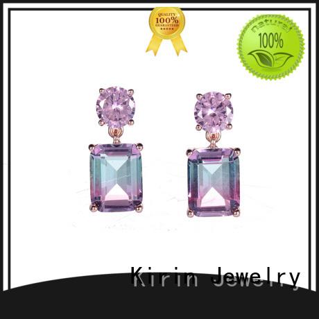 gold jewellery earrings ruby Bulk Buy genuine Kirin Jewelry